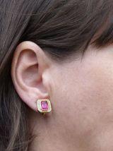 clips d'oreilles 80s DIOR