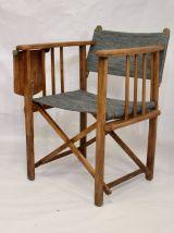 Set de 3 chaises de réalisateur pliantes marque Clairitex an