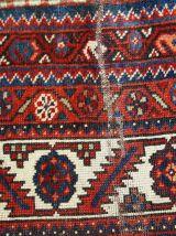 Tapis ancien Persan Shiraz fait main, 1C464