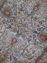 Tapis vintage Indo-Tabriiz fait main, 1C469
