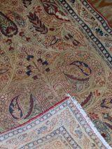 Tapis ancien Persan Kerman Lavar fait main, 1B524