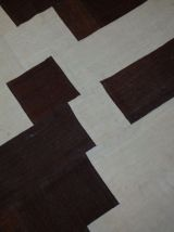 Tapis vintage Turc Patchwork fait main, 1B532