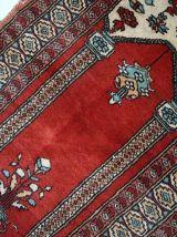 Tapis vintage Turc Konya fait main, 1C600