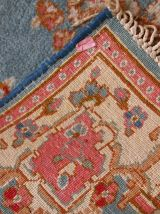 Tapis vintage Persan Kerman fait main, 1C643