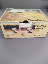 Batteur Moulinex avec deux jeux de fouets