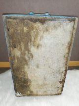 Caisse de chantier en  bois bleu