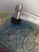 Globe terrestre de Räth ex-RDA vintage 1983 - 45 cm