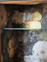 Commode vitrine,  année 50/60, restaurée