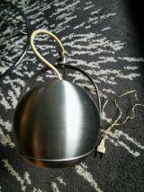 LAMPE EYE Ball Vintage 1970 Alu  D'époque  électricite d ori