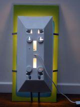 Lampe luminaire applique murale vintage moderniste