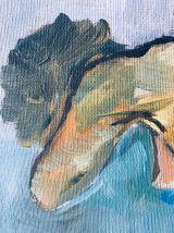 Tableau femme nue signé Gysin et daté de 64