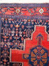 Tapis vintage Persan Senneh fait main, 1C679