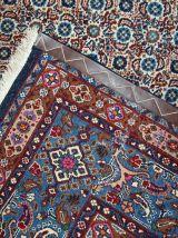 Tapis vintage Persan Nain fait main, 1C683