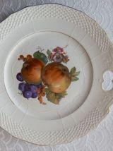 """Service à gâteau """" Aux fruits """" Moulin des Loups & Hamage Te"""
