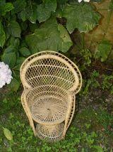 """Mini fauteuil """"Emmanuelle"""" (poupée ou déco)"""