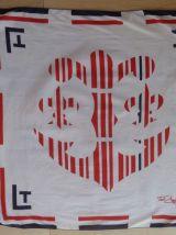 Foulard vintage Ted Lapidus authentique