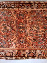 Tapis ancien Persian Sarouk fait main, 1B840