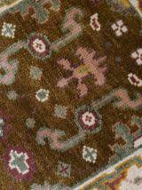 Tapis vintage Indien Mahal fait main, 1B860