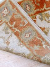 Tapis vintage Indien Mahal fait main, 1B861
