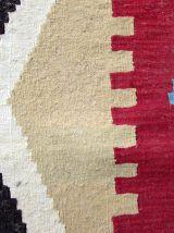 Tapis vintage Afghan Ardabil fait main, 1Q0034