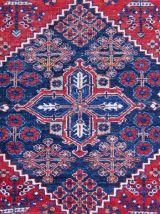 Tapis ancien Persian Mahal fait main, 1Q0046