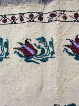 Tapis vintage Moldave fait main, 1Q0049