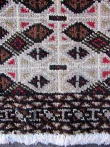 Tapis vintage Turkmène Tekke fait main, 1Q0050
