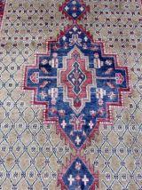 Tapis vintage Persan Hamadan fait main, 1Q0052