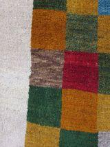 Tapis vintage Persan Gabbeh fait main, 1Q0070