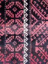Tapis vintage Afghan Baluch fait main, 1Q0077