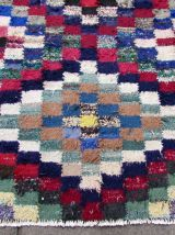 Tapis vintage Persan Ardabil fait main, 1Q0095