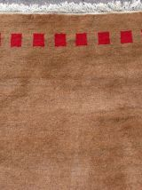 Tapis vintage Persan Gabbeh fait main, 1Q0106