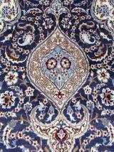 Tapis vintage Persan Nain fait main, 1Q0126
