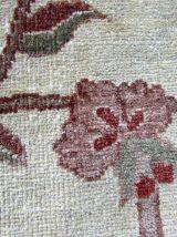 Tapis vintage Afghan Zigler fait main, 1Q0132