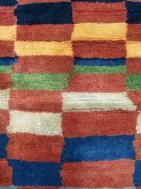 Tapis vintage Persan Gabbeh fait main, 1Q0133