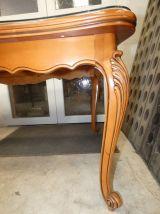 très belle table de salle à manger en merisier