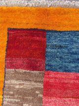Tapis vintage Persan Gabbeh fait main, 1Q0143
