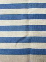 Tapis vintage Français Aubusson fait main, 1Q0147