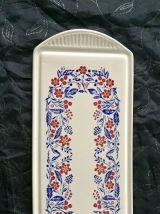Ancien Plateau à Cake, motif Acanthe Floral - Vintage