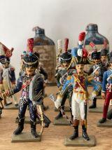 Lot d'anciens soldats de plomb