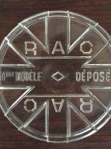 Paire de bocaux RAC  - 3/4 litre