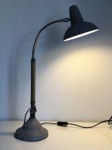 Lampe industrielle Super Chrome vintage 1950 - 60 cm