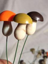 Figurines Champignons Miniatures
