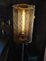 Lampadaire cireuse electrolux/lampe industrielle/