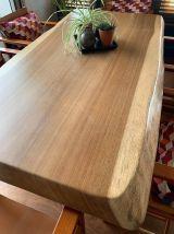 Table bois Iroko