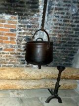 Crémaillère de cheminée
