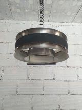 Suspension scandinave aluminium vintage années 60
