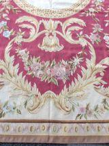 Tapis vintage Français Aubusson fait main, 1Q0154