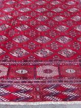 Tapis vintage Turkmène Tekke fait main, 1Q0160