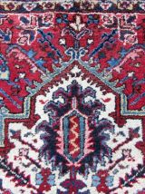 Tapis vintage Persan Heriz fait main, 1Q0167